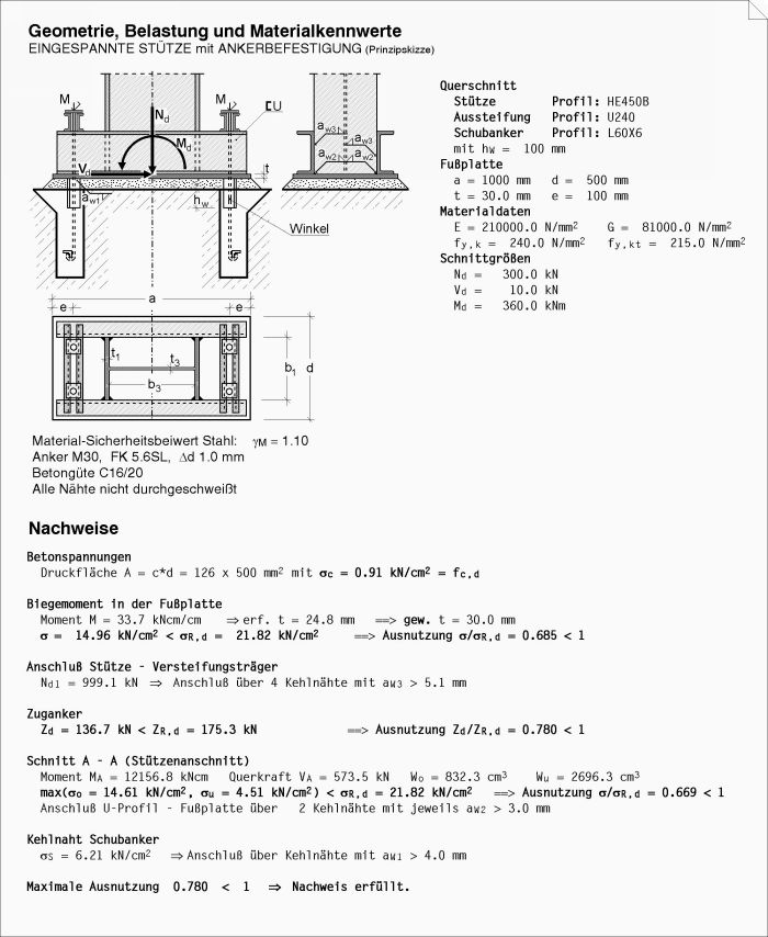 4h stahl stahlbaudetailnachweise. Black Bedroom Furniture Sets. Home Design Ideas